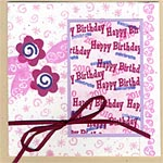 Birthday Card with Ribbon