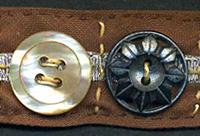 Button Headband and Bracelet