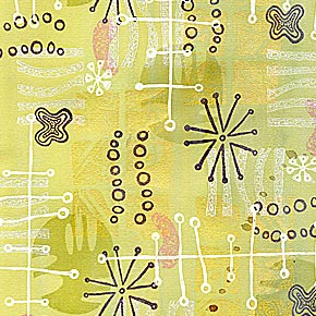 Rubber Stamped Pattern 4