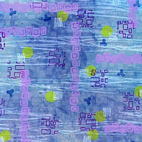 Rubber Stamped Pattern 7