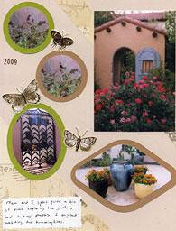 Garden at La Posada
