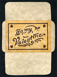 Valentine Pocket Card
