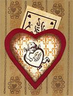 Valentine Pocket Card